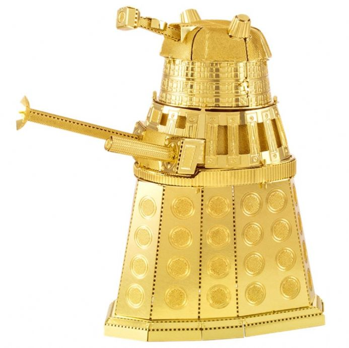 Dr Who Metal Earth Model Kit Gold Dalek | Buy now at The G33Kery - UK Stock - Fast Delivery